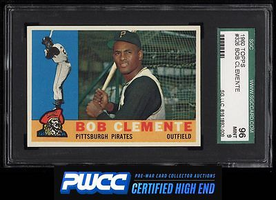 1960 Topps Roberto Clemente 326 SGC 996 MINT PWCCHE