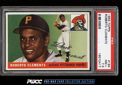 1955 Topps Roberto Clemente ROOKIE RC 164 PSA 75 NRMT PWCC