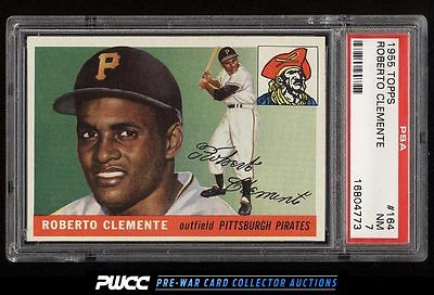 1955 Topps Roberto Clemente ROOKIE RC 164 PSA 7 NRMT PWCC