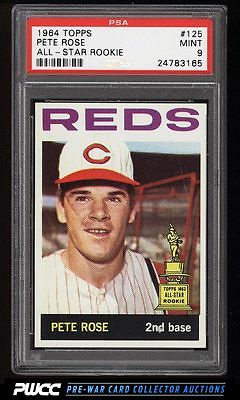 1964 Topps Pete Rose 125 PSA 9 MINT PWCC